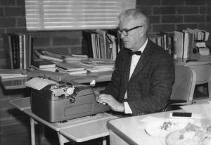 William E. Lloyd, Sr. at CSULA, c. 1965